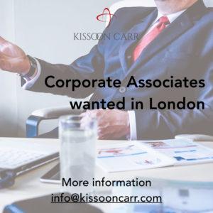 Corporate associates recruitment