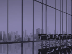 image of a large meeting room in London