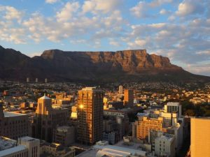 image of south african city