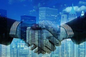 Handshake merger deal