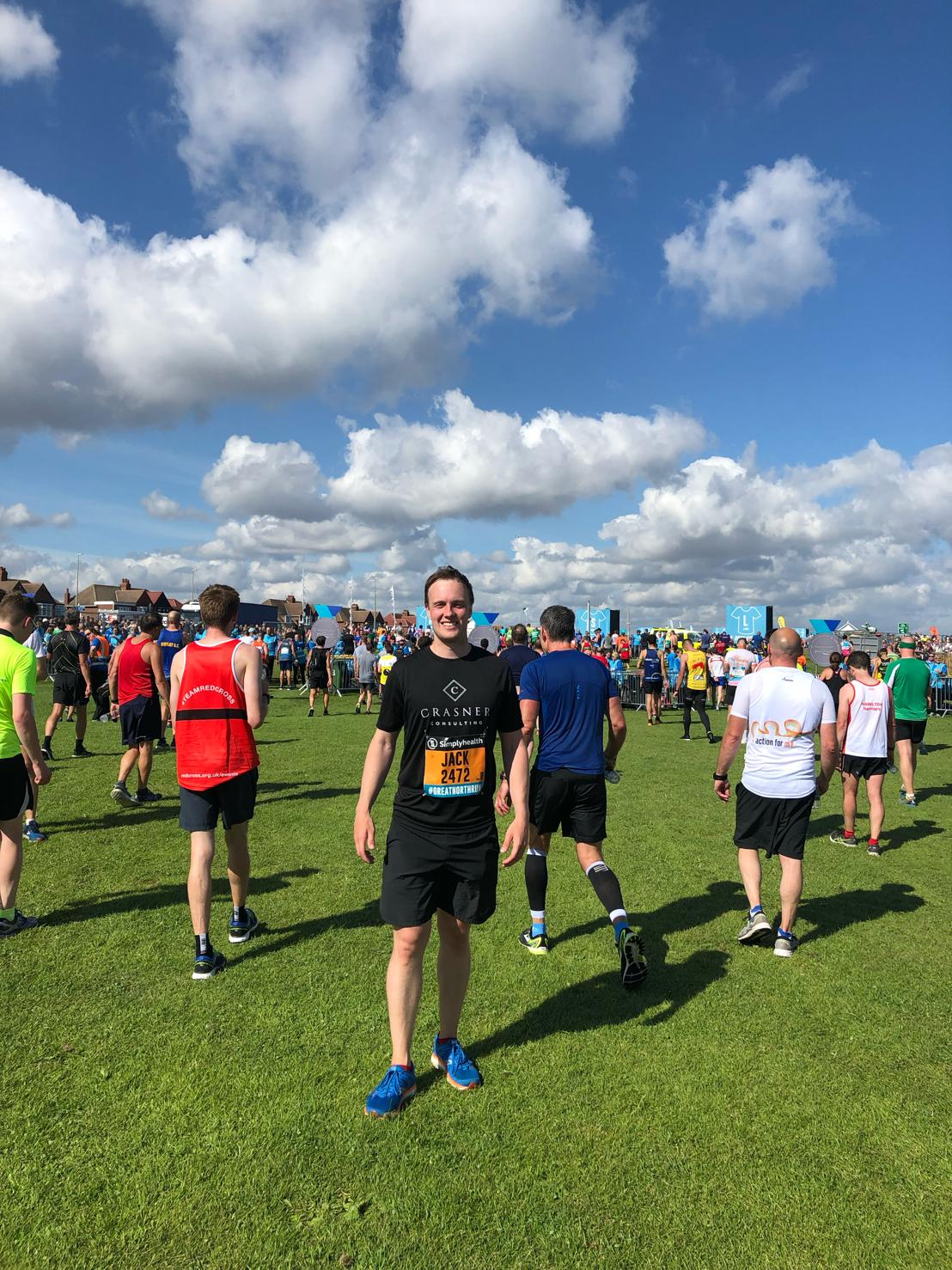 Crasner Consulting Completes the Great North Run for Cancer Research UK